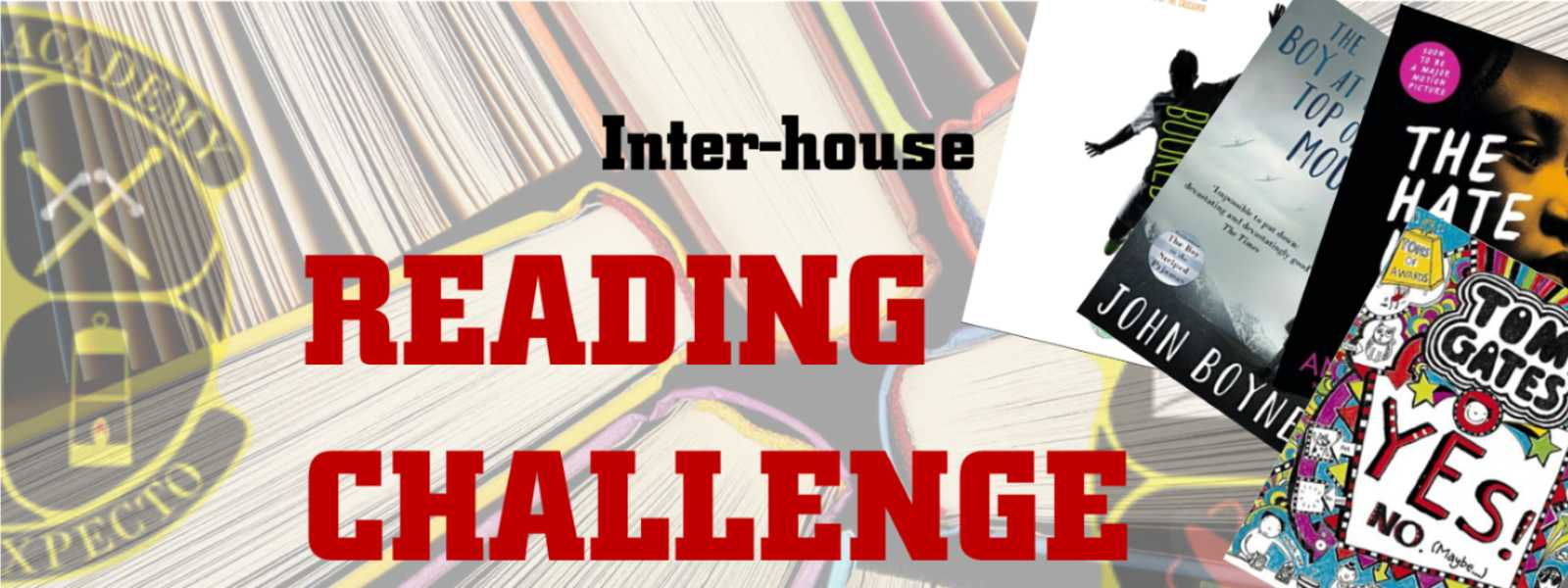 Inter House Reading Challenge